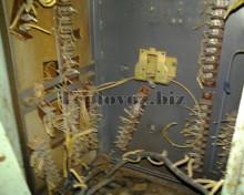 Электрический шкаф перед ремонтом