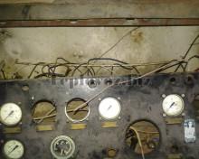 Пульт машиниста перед ремонтом