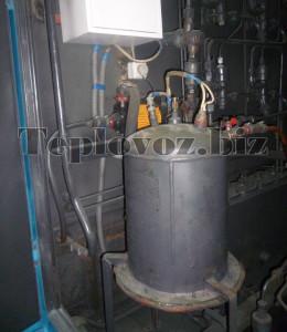 Система подогрева охлаждающей воды от постороннего источника