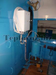 Система подогрева охлаждающей жидкости от постороннего источника