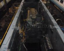 Установка дизеля на тепловоз после ремонта