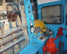 Кабина машиниста после ремонта