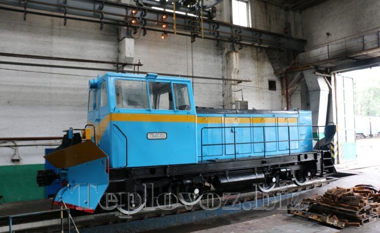 Маневровый локомотив ТГМ-40 после КР