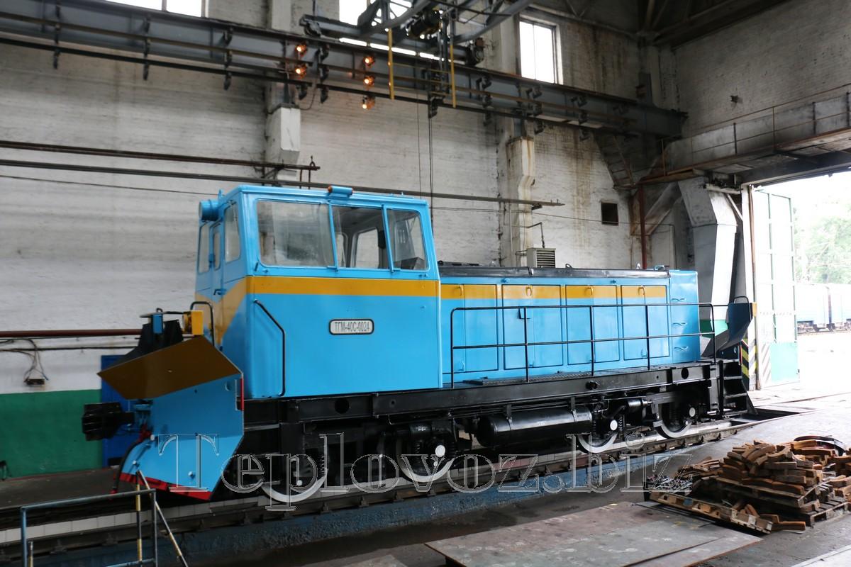 Капитальный ремонт локомотива ТГМ-40