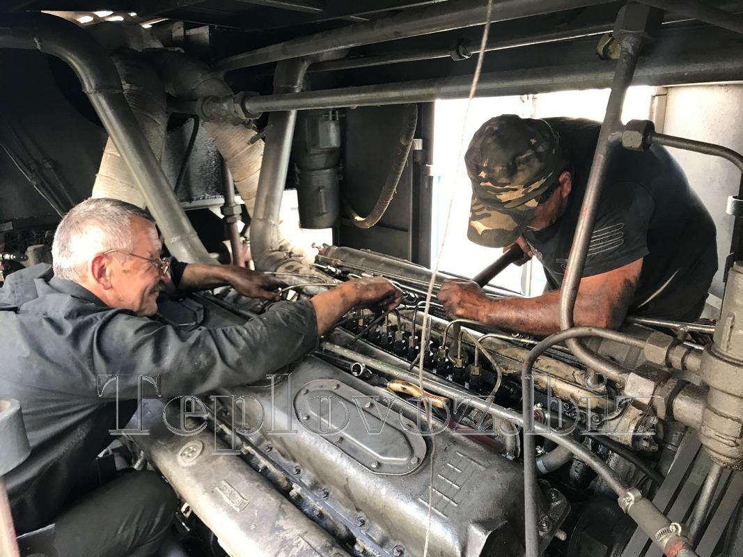 Выездной ремонт тепловоза ТГМ-40