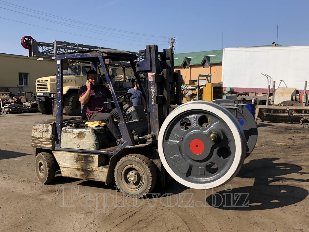 Ремонт колёсных пар тепловоза ТГМ-23 с обточкой