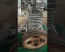 Обкатка компрессора ВВ-08/8 после капитального ремонта