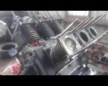 Обкатка компрессора ПК-5,25 после капитального ремонта
