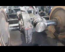 Обкатка вісьового редуктора колісної пари тепловоза ТГМ40